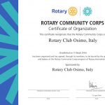 Rotary club Osimo 2015