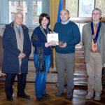 2016-11-05_Delegazione del RC Ariana la Rose ricevuta dal Sindaco di Osimo.