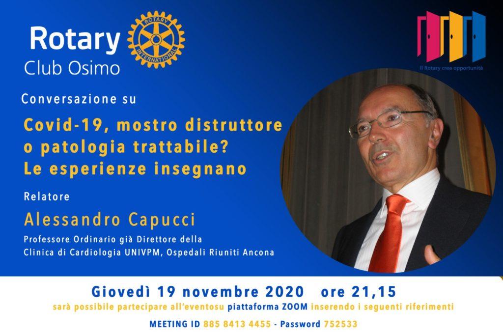 2020-11-19_Incontro in remoto con il prof. Alessandro Capucci